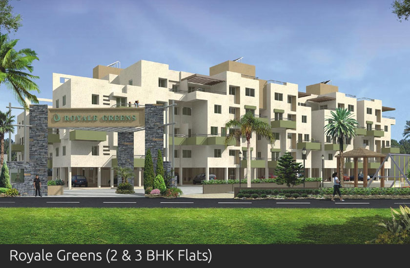 Royale Greens 2 and 3 BHK Flats - Shah Developers Sangli